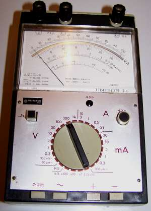Analoges Multimeter, Metrawatt Unigor 3n