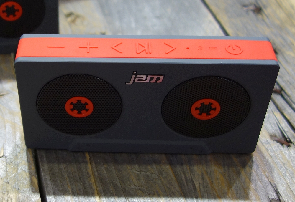 Jam Rewind Portable Bluetooth Speaker with Voice Prompts