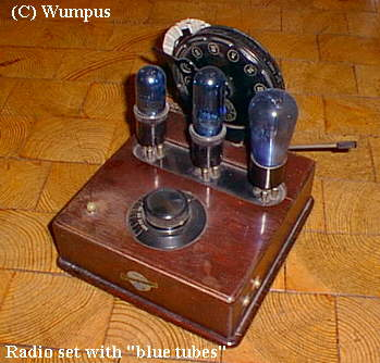 Deutsches Technikmuseum Berlin.   Radio Blaupunkt VII
